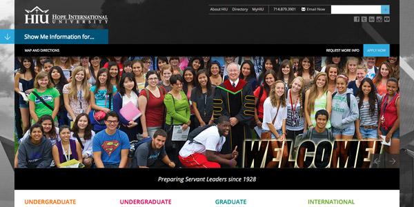 Welcome to Hope International University